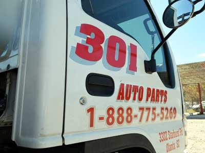 301 Auto Parts >> Auto Salvage Yard Location Map Sc 301 Auto Parts